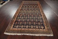 Pre-1900 Antique Vegetable Dye Malayer Persian Area Rug 5x11 image 15
