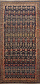 Pre-1900 Antique Vegetable Dye Malayer Persian Area Rug 5x11 image 1
