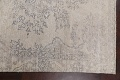 Muted Distressed Floral Tabriz Persian Area Rug 6x8 image 15