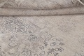 Muted Distressed Floral Tabriz Persian Area Rug 6x8 image 18