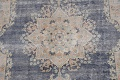 Antique Distressed Over-dyed Kerman Persian Area Rug 5x8 image 4