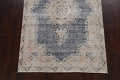 Antique Distressed Over-dyed Kerman Persian Area Rug 5x8 image 8
