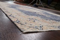 Antique Distressed Over-dyed Kerman Persian Area Rug 5x8 image 6