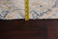 Antique Distressed Over-dyed Kerman Persian Area Rug 5x8 image 19