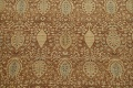 100% Vegetable Dye Floral Kashan Oriental Area Rug 9x12 image 4