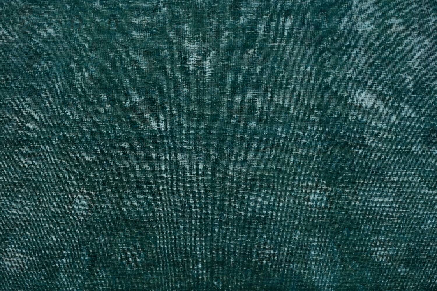 Distressed Over-dyed Tabriz Persian Area Rug 10x13 image 4