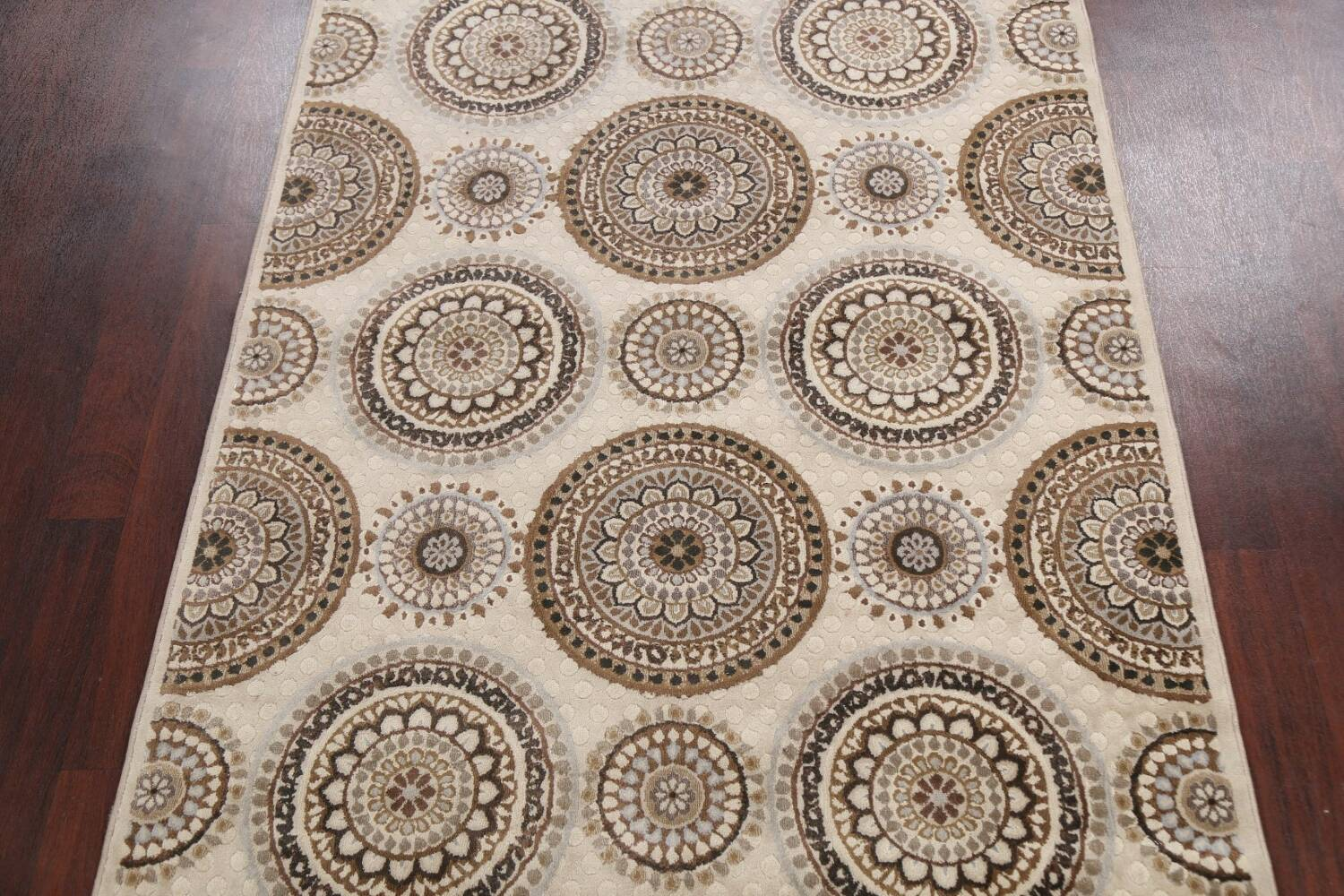 All-Over Modern Oriental Area Rug 5x7 image 3