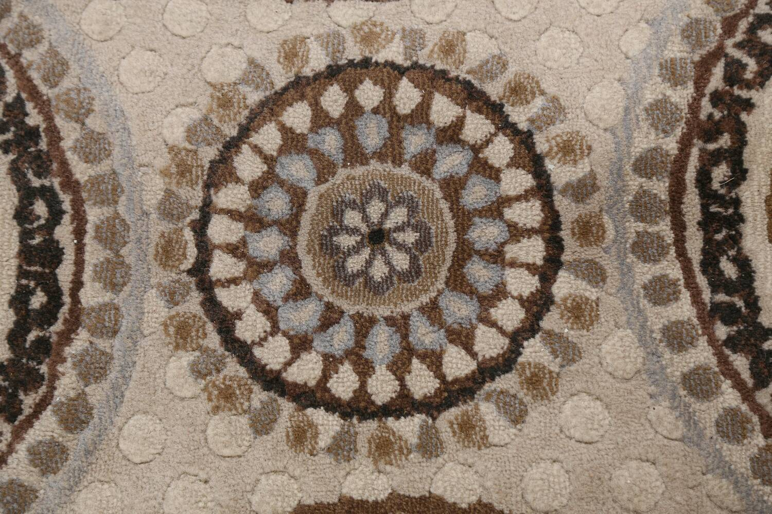 All-Over Modern Oriental Area Rug 5x7 image 9