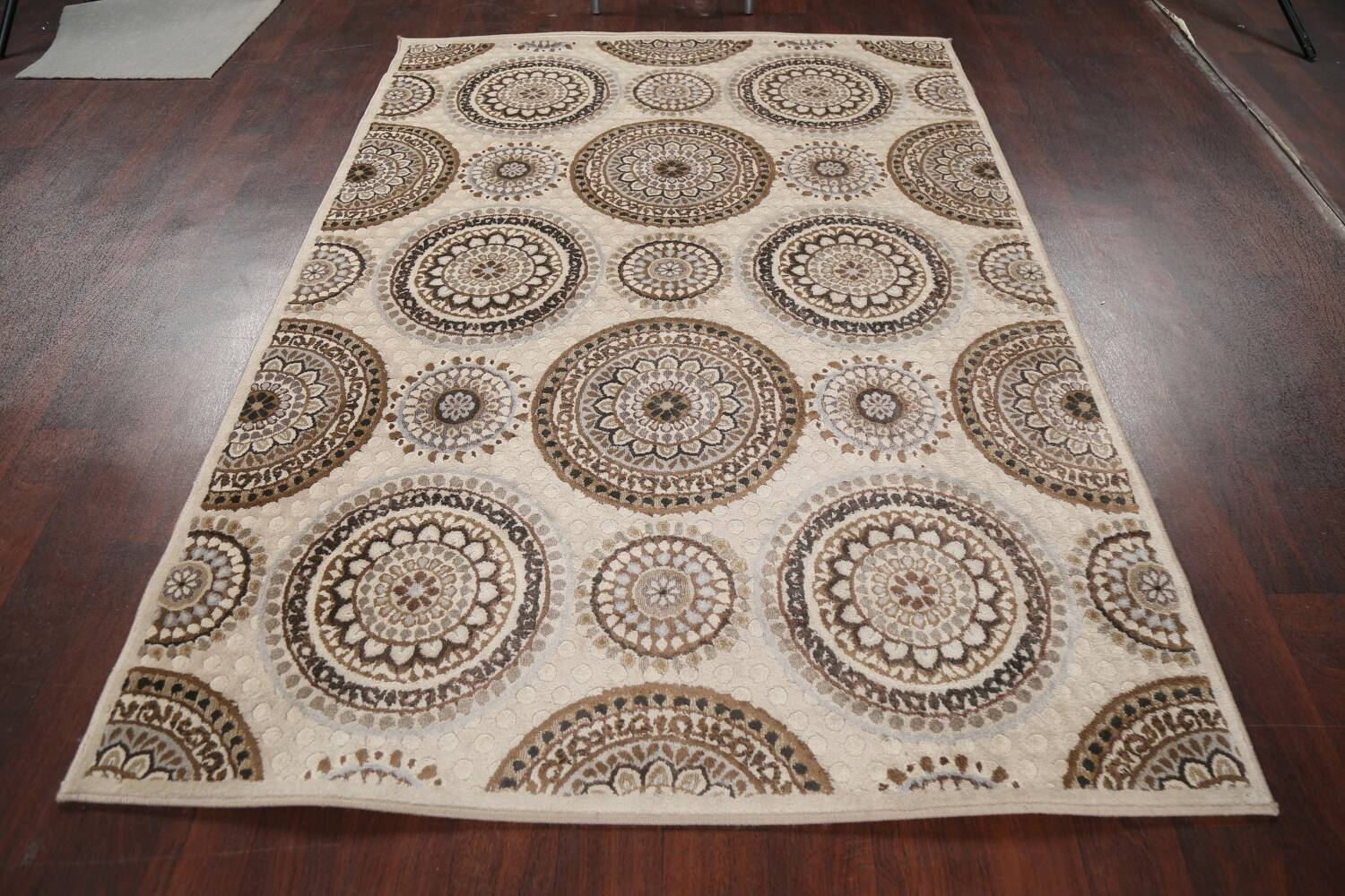 All-Over Modern Oriental Area Rug 5x7 image 13