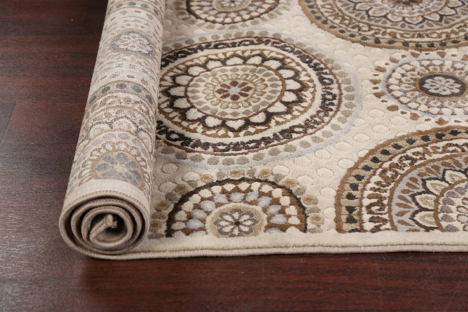 All-Over Modern Oriental Area Rug 5x7 image 14