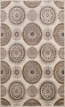 All-Over Modern Oriental Area Rug 5x7 image 1