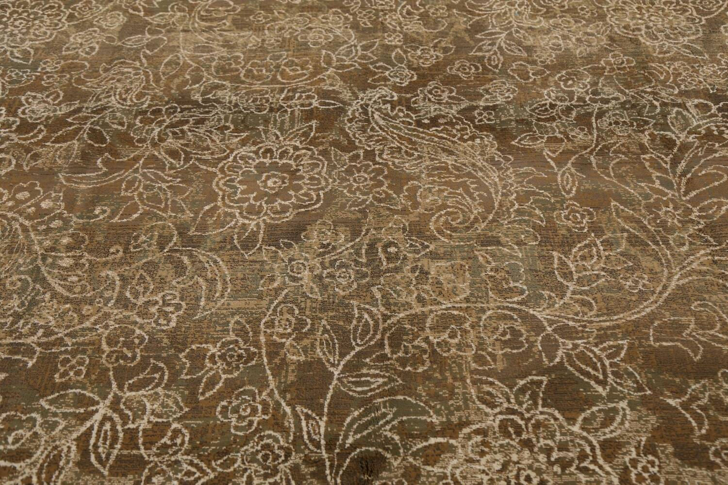 Transitional All-Over Modern Oriental Area Rug 8x11 image 11
