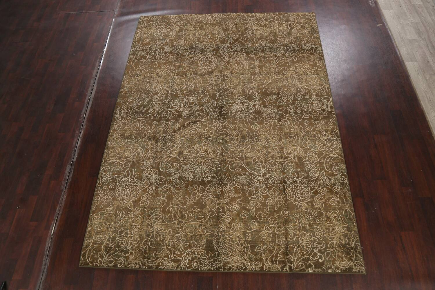Transitional All-Over Modern Oriental Area Rug 8x11 image 2