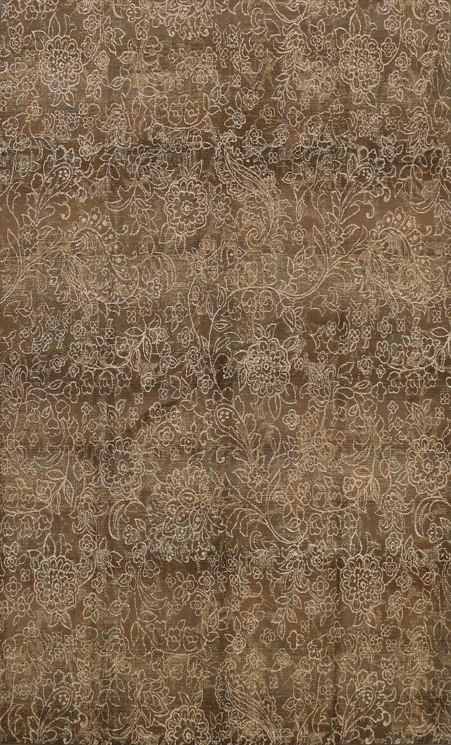 Transitional All-Over Modern Oriental Area Rug 8x11 image 1