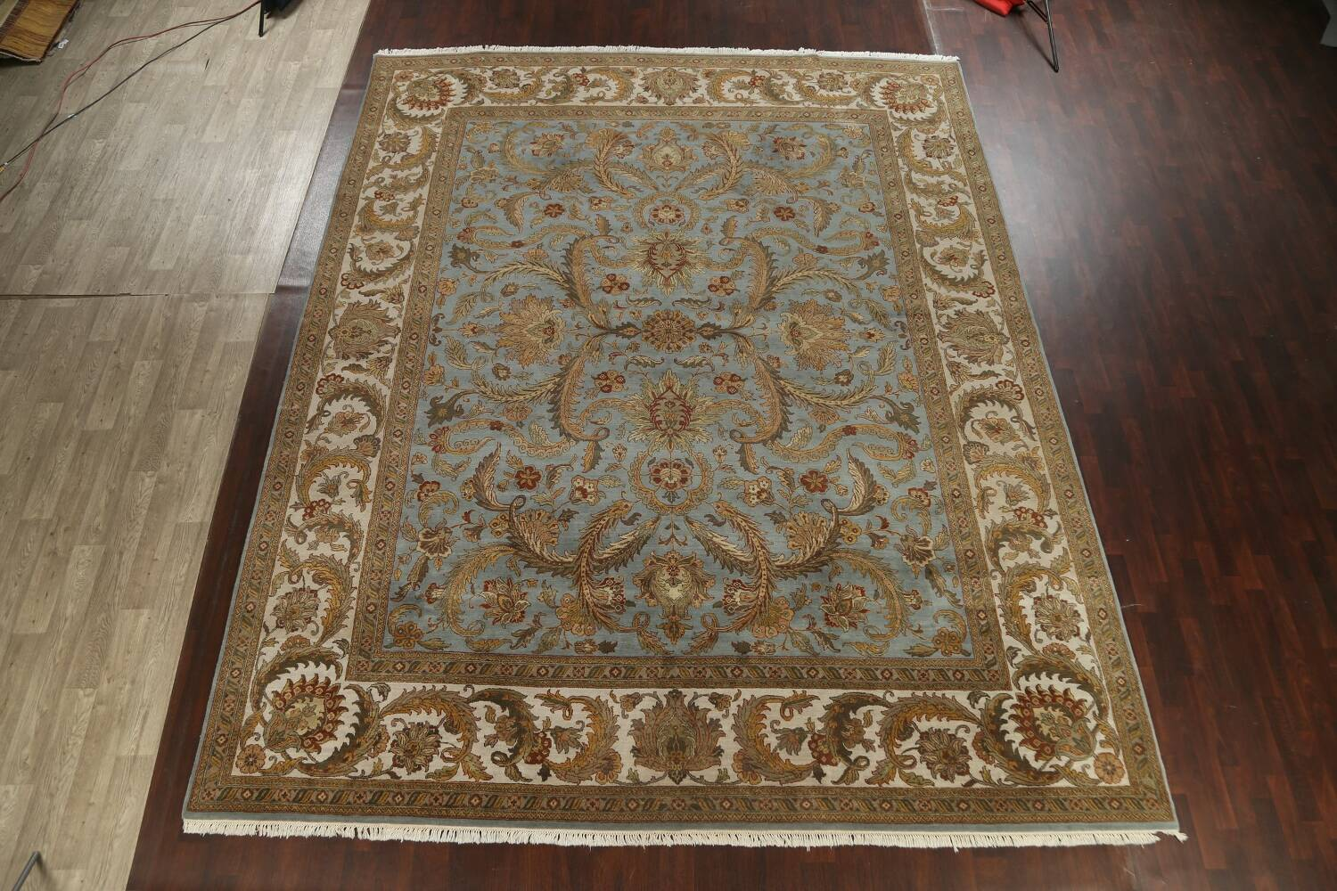 All-Over Floral Agra Oriental Area Rug 12x15 image 2