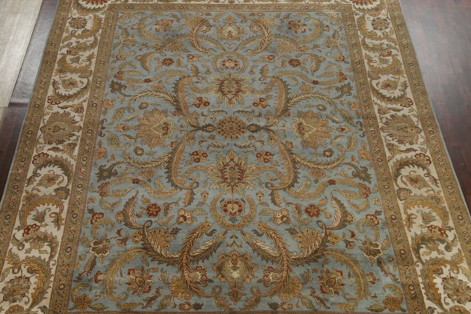 All-Over Floral Agra Oriental Area Rug 12x15 image 3