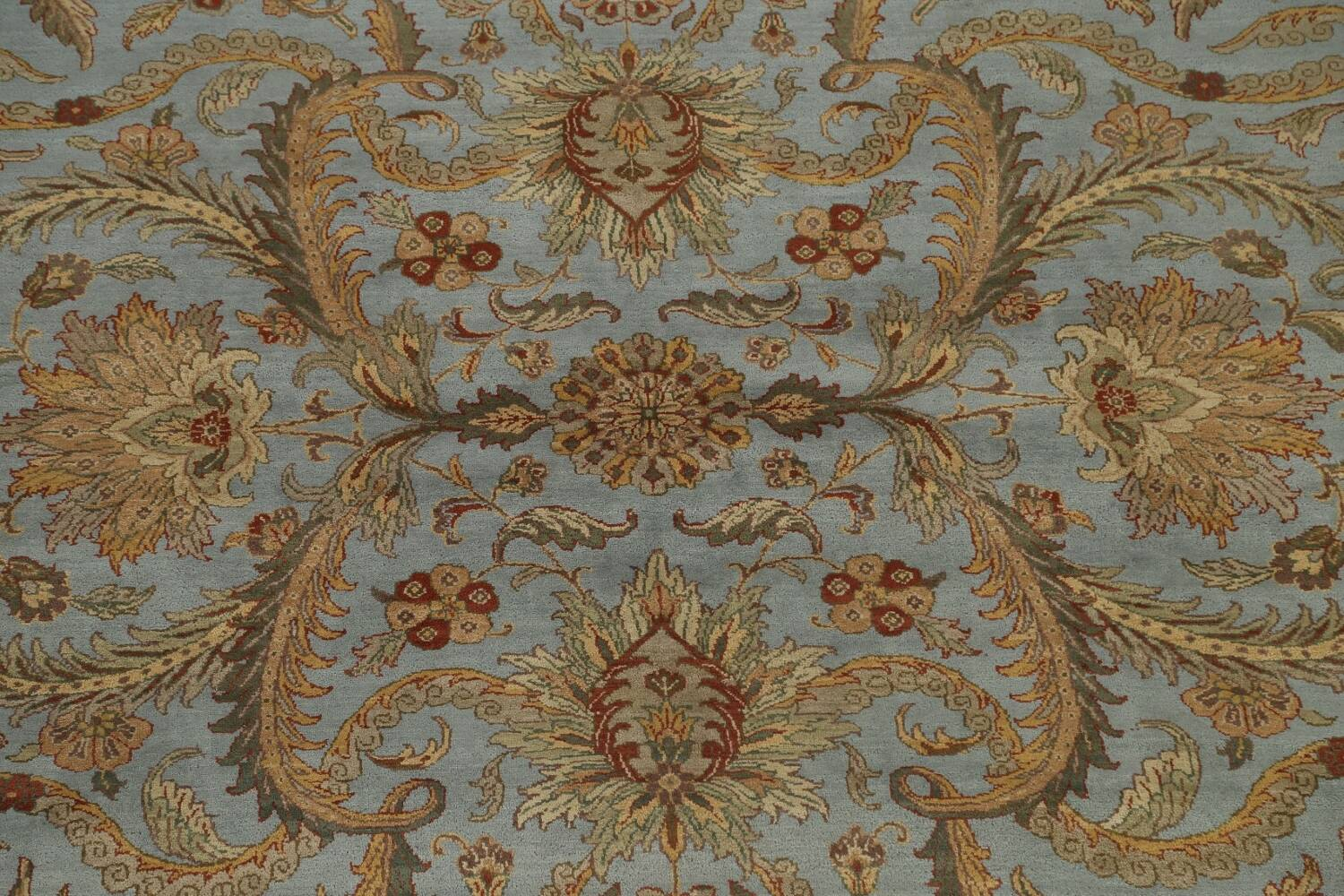 All-Over Floral Agra Oriental Area Rug 12x15 image 4