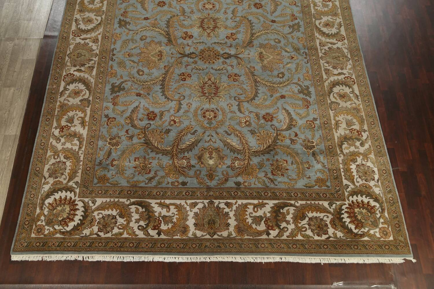 All-Over Floral Agra Oriental Area Rug 12x15 image 8