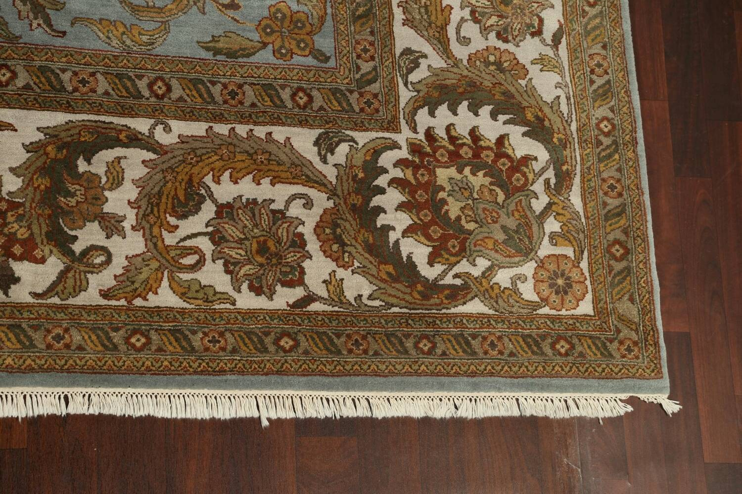 All-Over Floral Agra Oriental Area Rug 12x15 image 5