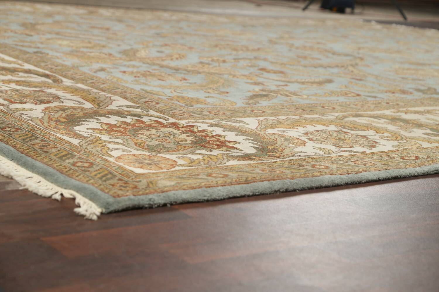 All-Over Floral Agra Oriental Area Rug 12x15 image 6