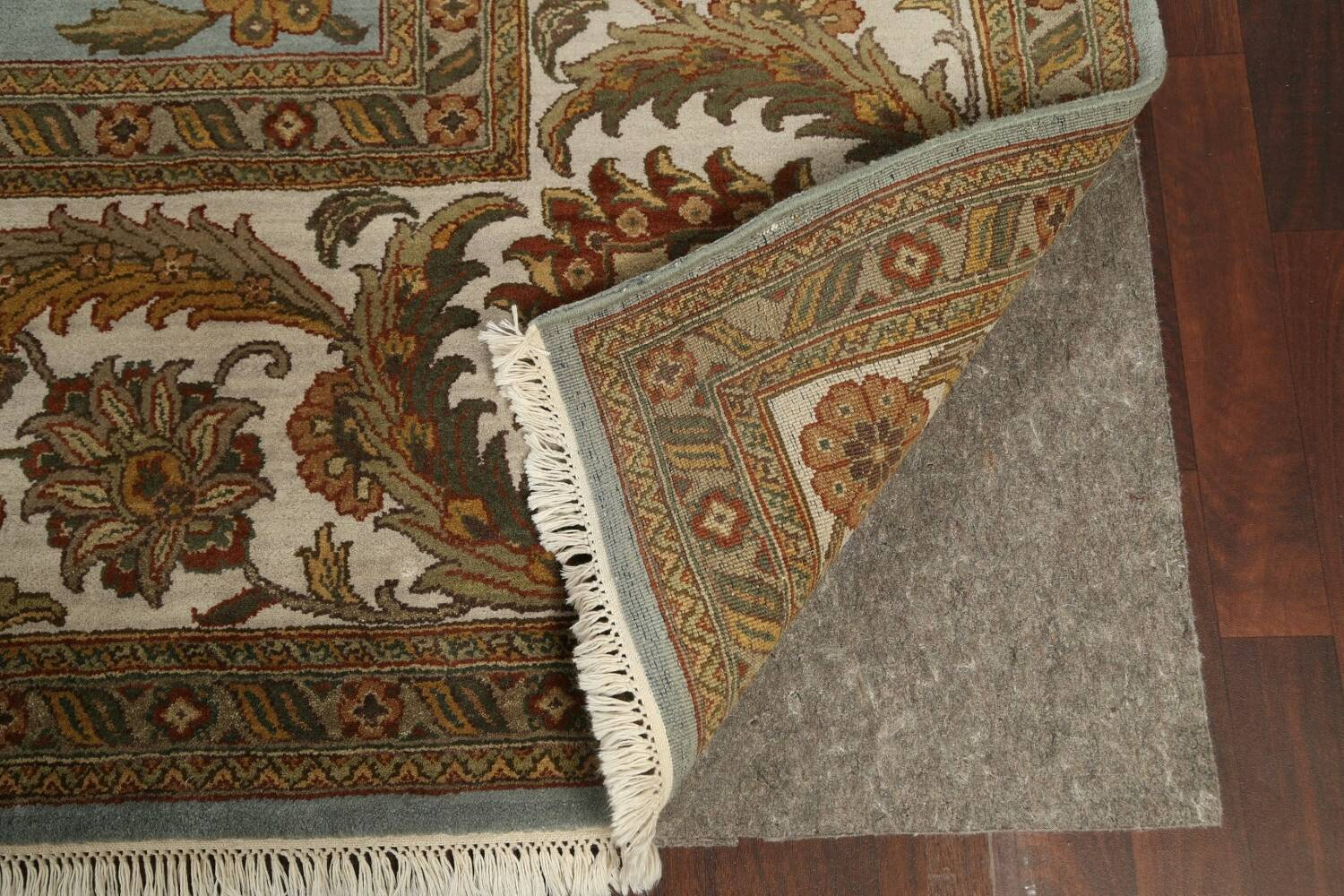 All-Over Floral Agra Oriental Area Rug 12x15 image 7