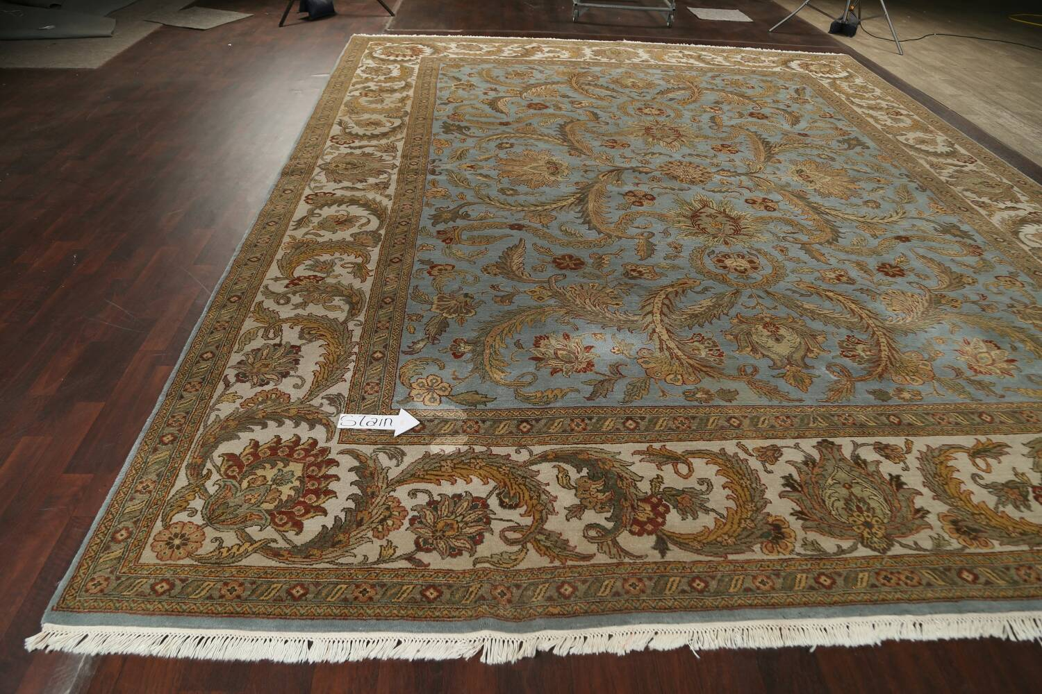 All-Over Floral Agra Oriental Area Rug 12x15 image 14