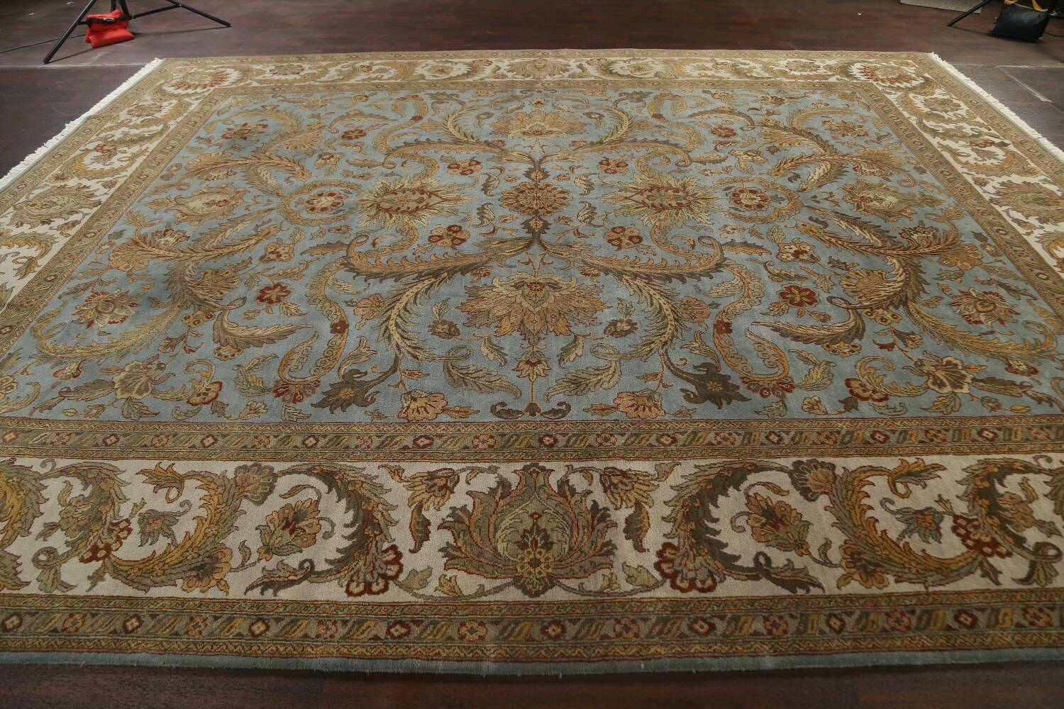 All-Over Floral Agra Oriental Area Rug 12x15 image 18