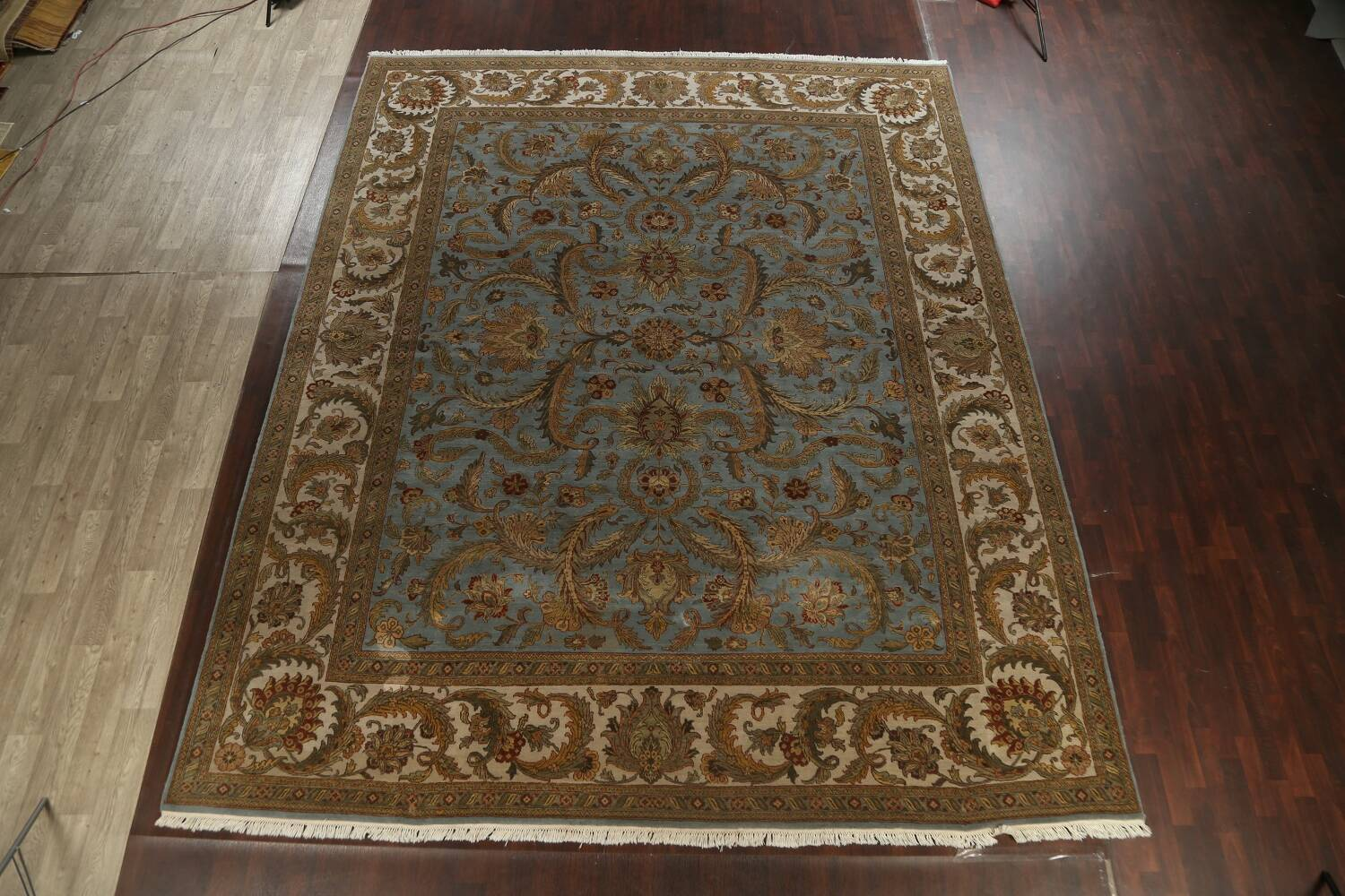 All-Over Floral Agra Oriental Area Rug 12x15 image 19