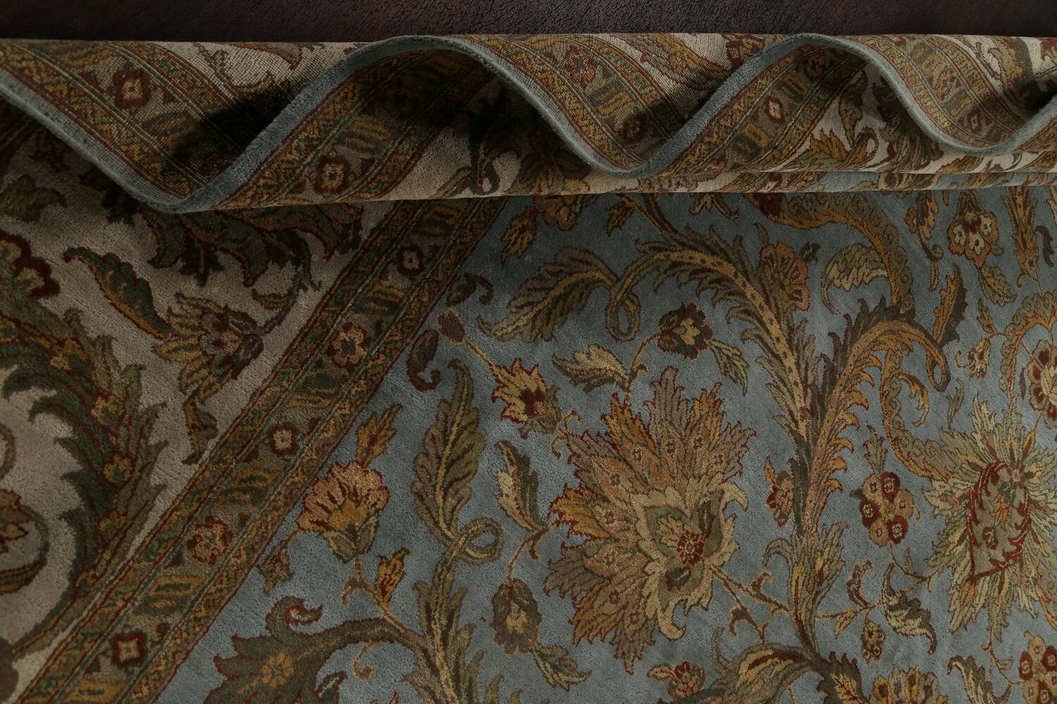 All-Over Floral Agra Oriental Area Rug 12x15 image 21