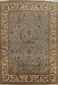 All-Over Floral Agra Oriental Area Rug 12x15 image 1