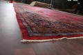 Antique 100% Vegetable Dye Kashan Persian Area Rug 12x20 image 6