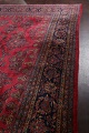 Antique 100% Vegetable Dye Kashan Persian Area Rug 12x20 image 14