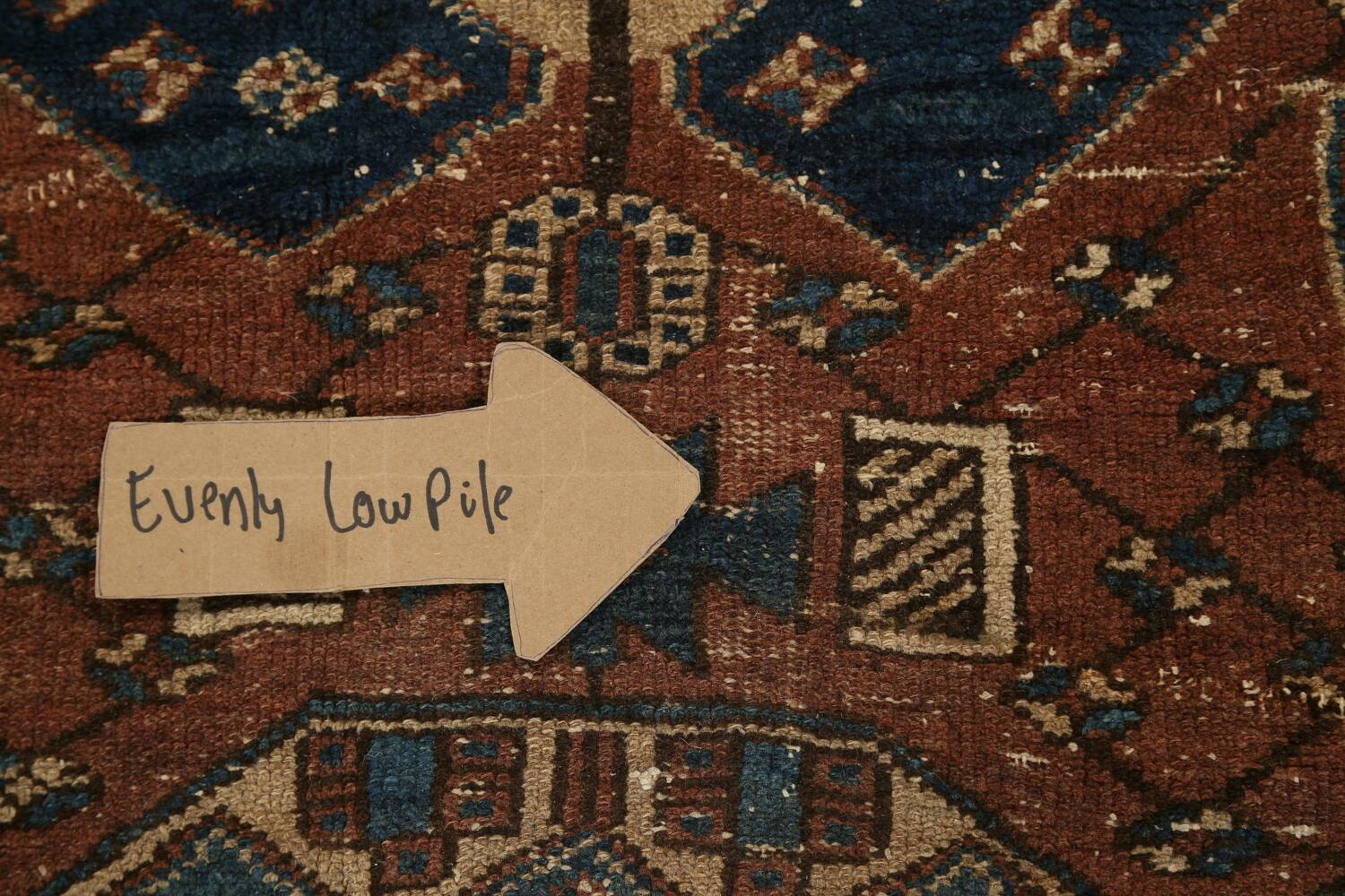 Pre-1900 Antique Vegetable Dye Malayer Persian Runner Rug 4x13 image 12
