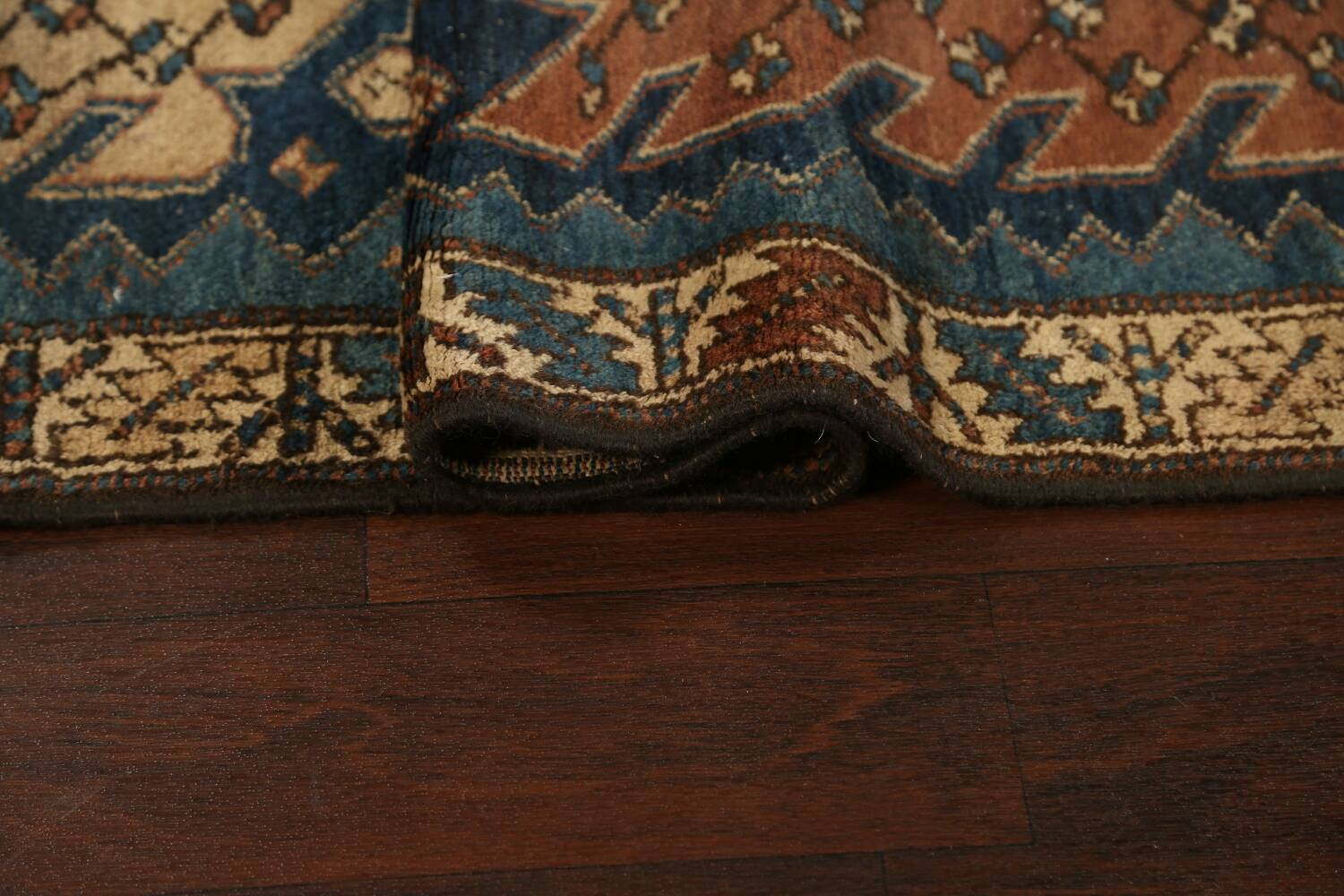 Pre-1900 Antique Vegetable Dye Malayer Persian Runner Rug 4x13 image 16