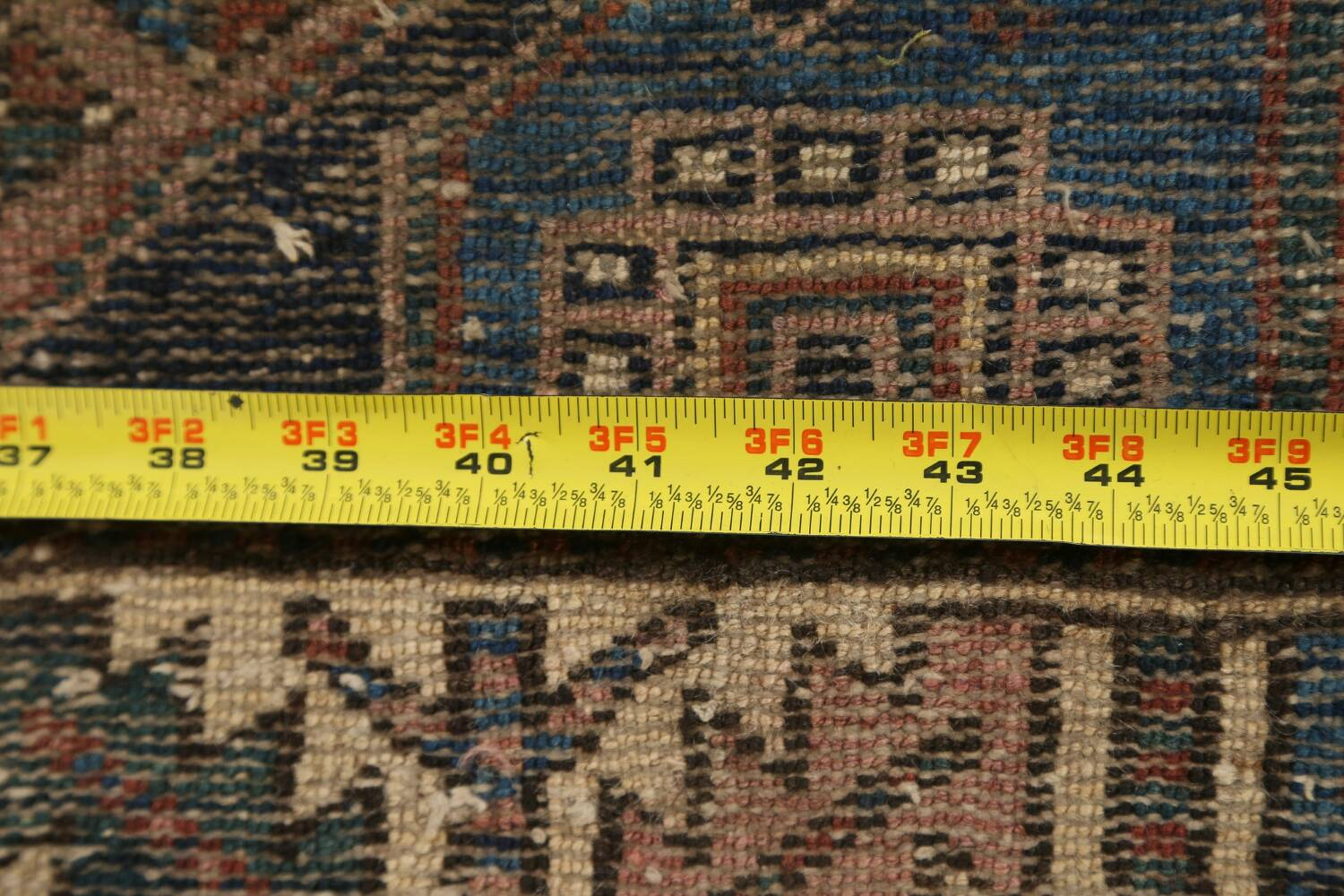 Pre-1900 Antique Vegetable Dye Malayer Persian Runner Rug 4x13 image 22