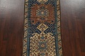 Pre-1900 Antique Vegetable Dye Malayer Persian Runner Rug 4x13 image 3