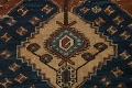 Pre-1900 Antique Vegetable Dye Malayer Persian Runner Rug 4x13 image 10