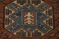 Pre-1900 Antique Vegetable Dye Malayer Persian Runner Rug 4x13 image 11