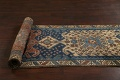Pre-1900 Antique Vegetable Dye Malayer Persian Runner Rug 4x13 image 19