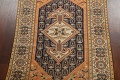 Antique 100% Vegetable Dye Sultanabad Persian Area Rug 4x5 image 3