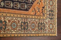 Antique 100% Vegetable Dye Sultanabad Persian Area Rug 4x5 image 12