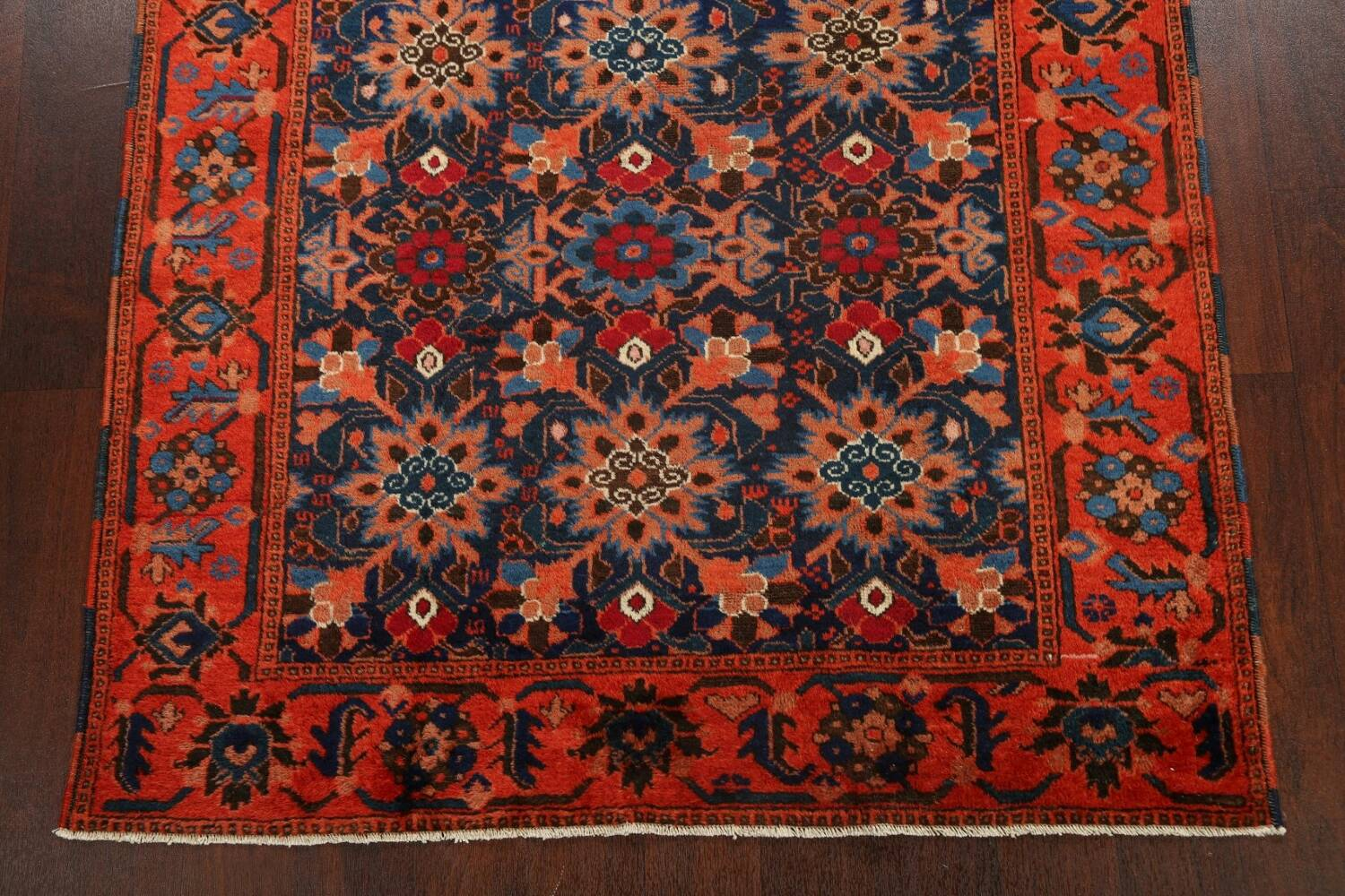 Antique 100% Vegetable Dye Malayer Persian Area Rug 4x7 image 8