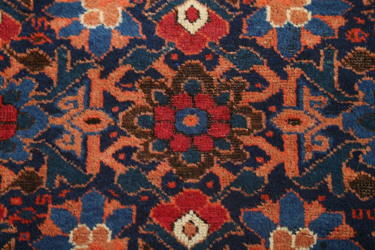 Antique 100% Vegetable Dye Malayer Persian Area Rug 4x7 image 11