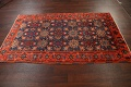 Antique 100% Vegetable Dye Malayer Persian Area Rug 4x7 image 17