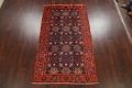 Antique 100% Vegetable Dye Malayer Persian Area Rug 4x7 image 18