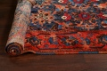 Antique 100% Vegetable Dye Malayer Persian Area Rug 4x7 image 19