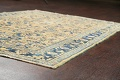 Pre-1900 Antique Vegetable Dye Sultanabad Persian Area Rug 4x7 image 6