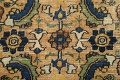 Pre-1900 Antique Vegetable Dye Sultanabad Persian Area Rug 4x7 image 9
