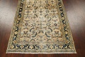 Pre-1900 Antique Vegetable Dye Sultanabad Persian Area Rug 4x7 image 12