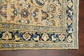 Pre-1900 Antique Vegetable Dye Sultanabad Persian Area Rug 4x7 image 14